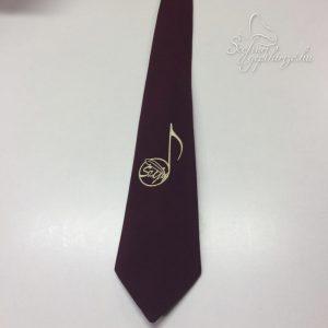 Hímzett nyakkendők énekkaroknak