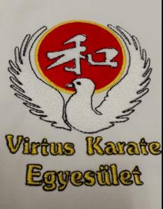Karate ruha hímzés